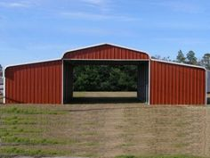 Simpco Portable Buildings | Derksen Painted Side Lofted Barn Cabin