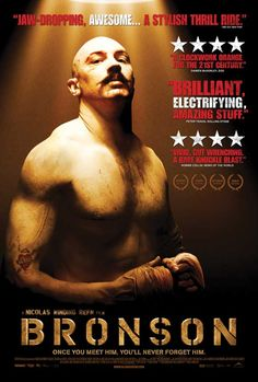 COMING SOON - Availability: http://130.157.138.11/record= Bronson -- staring Tom Hardy & directed by Nicolas Winding Refn