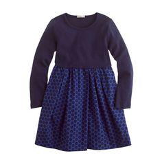 Girls' city dizzy dress... J.Crew $52.50