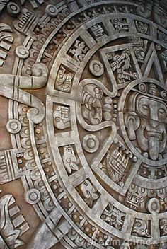 Photo about Ancient aztec calendar. Mexican heritage and traditions. Image of aztec, macro, figurine - 6568962 Ancient Aztecs, Ancient Civilizations, Ancient Art, Ancient Ruins, Ancient History, Armband Tattoos, Tribal Tattoos, Chicano Tattoos, Indian Tattoos
