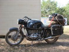Vintage off-road long distance BMW Bmw Motorbikes, Bmw Motorcycles, Vintage Motorcycles, Motorcycle Tank, Motorcycle Camping, Bmw Vintage, Vintage Bikes, R1200r, Bmw Touring