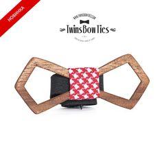 Wooden bow tie Maxim Retro 100 handicraft por TwinsBowties en Etsy, $49.00