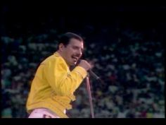 QUEEN - Under Pressure. Live At Wembley Stadium 1986. There will never be another Freddie Mercury.