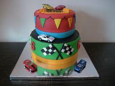 adult+car+cakes | Jaxon's Race Car Cake