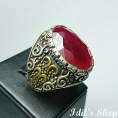 Authentic Turkish Ottoman Style Handmade 925 Sterling Silver by Idil's Shop, $110.00