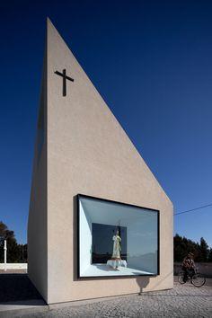 Capela de Santa Filomena, Figueira da Foz, Arquitecto Pedro Mauricio Borges, FG+SG Architectural Photography