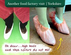 What happened when we went to visit a food #factory - high heels were a little dangerous! #food #branding #agency Food Branding, Branding Agency, Packaging Design, A Food, High Heels, Blog, High Heeled Footwear, High Heel, Blogging