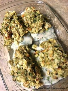 Stove-Top Stuffed Pork Chops - these were excellent I made them with homemade cream soup sauce instead and they were fabulous