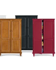 For the Kitchen too cute not to mention im in dire need of a pantry!   Storage Cabinet - jcpenney