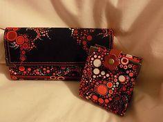 HandmadeByMamicka / Dámska peňaženka s puzdrom na karty / Ladie's wallet with Card case