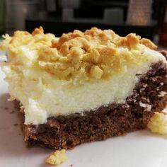 """TŘÍBAREVNÁ BUCHTA PRO KATKU"" Nutella, Cheesecake, Food And Drink, Pie, Sweet, Recipes, Torte, Candy, Cake"