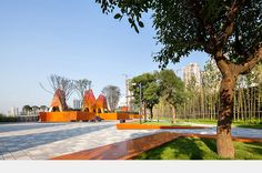 Fengming Mountain Park   Chongqing, China. By Marta Schwartz Landscape Architecture