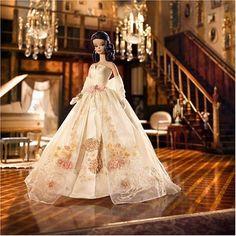 Lady-of-the-Manor-Silkstone-Barbie-Fashion-Model-MIB-NRFB-2006-Gold-Label