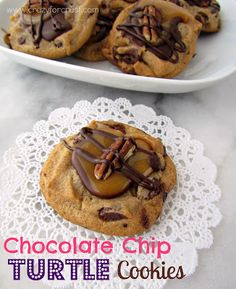 Chocolate Chip Turtle Cookies Recipe on Yummly. @yummly #recipe