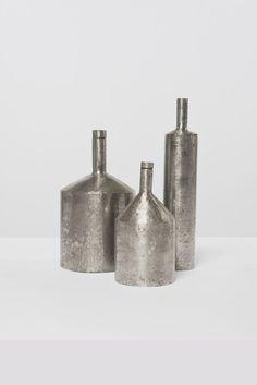 "Philolaos Tloupas ""Three bottles"" 1960 Stainless steel"