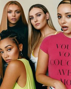 𝐋𝐢𝐭𝐭𝐥𝐞 𝐌𝐢𝐱 : New Picture of the girls for ASOS magazine. Jesy Nelson, Perrie Edwards, Little Mix Photoshoot, Little Mix Updates, Asos Magazine, My Girl, Cool Girl, X Factor, Litte Mix