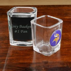 Personalized NFL Shot Glasses for all 32 Teams #groomsmengifts http://www.themanregistry.com/gifts/personalized-nfl-shot-glass.html