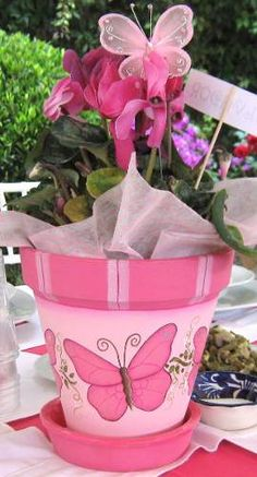 Idea Of Making Plant Pots At Home // Flower Pots From Cement Marbles // Home Decoration Ideas – Top Soop Flower Pot Art, Flower Pot Design, Clay Flower Pots, Terracotta Flower Pots, Flower Pot Crafts, Clay Pots, Paint Garden Pots, Painted Plant Pots, Painted Flower Pots