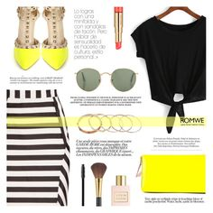 """Latest Street Fashion"" by tasnime-ben ❤ liked on Polyvore featuring Reiss, Ashley Graham, Estée Lauder, Comme des Garçons, Marc Jacobs, Dr.Hauschka and romwe"