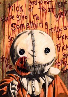 Trick r Treat Halloween Movies, Halloween Pictures, Halloween Horror, Scary Movies, Halloween Art, Halloween 2020, Halloween Stuff, Horror Movie Characters, Horror Movie Posters
