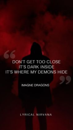 #imaginedragons #demons #dark #hide #alone #darksouls  #relationships #lipstick #songs #music #yrics #photooftheday #image #photography #art #drawings #draw #lyricalnirvana #lyrical_nirvana #wallpaper Drawing S, Art Drawings, My Demons, Imagine Dragons, Dark Souls, Nirvana, Image Photography, Song Lyrics, Singers