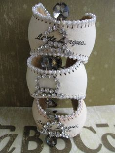 Hey, Karen, Kristin and Brian! Great idea or your baseball moms. Baseball bracelets