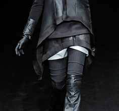 "neptune-estate: Details from Rick Owens FW09 ""Crust""  layers"