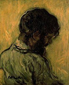 """""""Gitano"""". Óleo sobre lienzo. 60 x 50 cms. Colección particular."""