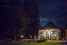 Larmer Tree Indian Room At Night