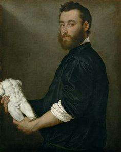 Giovanni Battista Moroni. Ritratto di Alessandro Vittoria. Kunsthistorisches Museum, Vienna