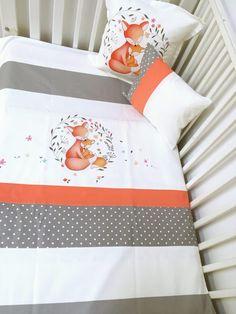 Bleu Owls baby Ensemble De Literie housses de couette Rideaux Lit Bébé//Lit bébé//enfant 100/% coton