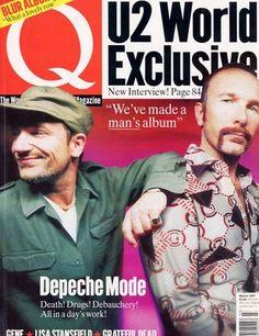 U2 > Gallery > Magazine Covers