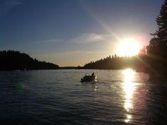 Sunset On The Lake: Lake Oswego, OR