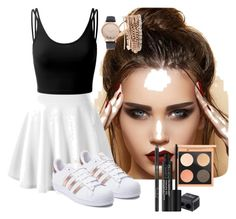 """Untitled #181"" by perlahak on Polyvore featuring Doublju, adidas, Jessica Carlyle and Rodial"