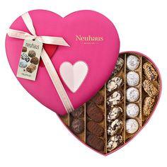 Neuhaus Pink 3D Heart Truffle Assortment