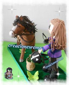 Muñequitas de goma eva Creacionesreme fofucho caballo realizado en goma eva…