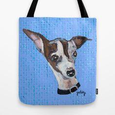 Mia the Italian Greyhound Tote Bag