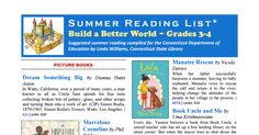 The Connecticut State Suggested Reading List for Grades 3-4