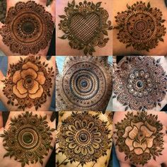 Best Round Mehndi Designs - Mehndi is all-time women's favorite and when talking about round mehndi designs, they turn out into crazy lovers of it. For Circular Mehndi Lovers this article brings the most amazing 40 designs that are simple and easy. Henna Hand Designs, Dulhan Mehndi Designs, Mehandi Designs, Mehendi, Round Mehndi Design, Mehndi Designs Finger, Palm Mehndi Design, Simple Arabic Mehndi Designs, Mehndi Designs For Beginners