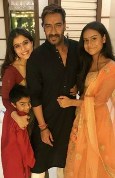 bollywood actor Ajay devgan complete family pic with wife Kajol daughter Nysa & son Yug Bollywood Stars, Bollywood Couples, Bollywood Photos, Bollywood Fashion, Bollywood Updates, Bollywood News, Indian Celebrities, Bollywood Celebrities, Bollywood Actress