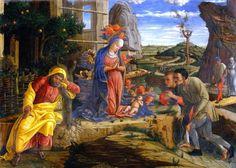 Andrea Mantegna - Adoration of the Shepherds