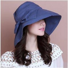 Pink packable bucket hat with bow for women UV protection summer wear.  Gorros ... d5f88377eac