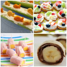 No-Cook Snack Ideas - Teaching 2 and 3 year olds