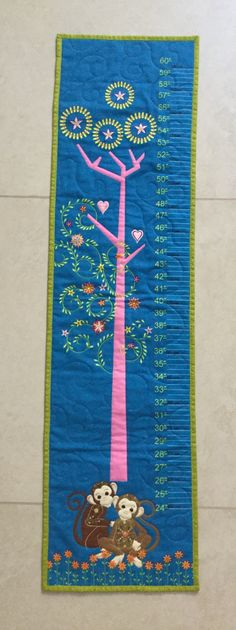 Growing Chart for Thomas, we will send it to Italy with other gifts. Sept 2016