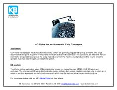 AC Drive for a Chip Conveyor
