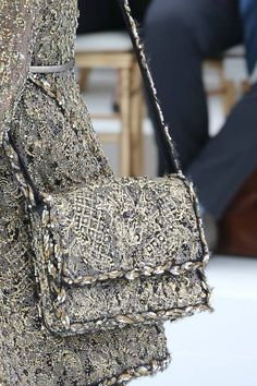 Chanel couture-2014/15 silver bag