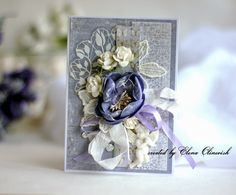 From Elena Olinevich. eleele-handmade: Wedding Cards for Maja Design