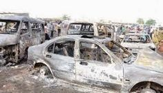 Welcome to NewsDirect411: Breaking News: 17 Vehicles Burnt And Shops Razed I...