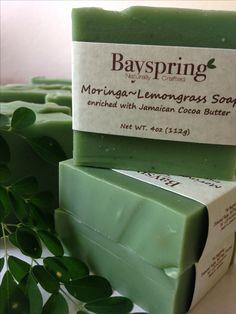 Moringa oleifera soap