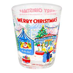 Merry Christmas Glass Tumbler | Christmas Decorations | CathKidston